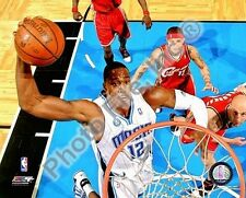 DWIGHT HOWARD Orlando Magic 2009 Playoffs DUNK LICENSED picture 8x10 photo