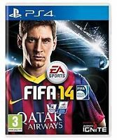 Brand New Factory Sealed EA Sports FIFA 14 Sony PlayStation 4 PS4 Free Shipping