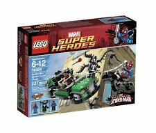 Lego Marvel Super Heroes Spider-Man Spider-Cycle Chase (76004) [Sealed]
