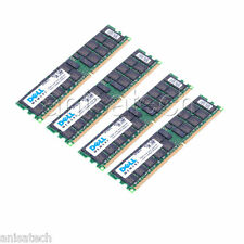 16GB (4x 4GB) PC2-3200R Dell PowerEdge 1800 1850 2850 SC1425 SERVER RAM KIT