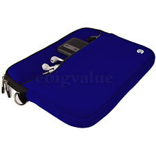 "9.7"" Dark Blue Zipper Tablet Sleeve Case Bag for Apple iPad Air 2 / iPad Pro 9.7"