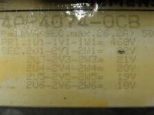 SIEMENS 4AP4074-0CB TRANSFORMER 1KVA PRI=460/480V SEC=22 21 20 19 18V 3PH *XLNT*