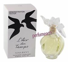 L'AIR DU TEMPS BY NINA RICCI TSTR 3.4OZ EDT FOR WOMEN NEW & NOBOX