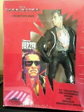 The Terminator Collector'S Pack Collectible Model And Original Vhs Movie New