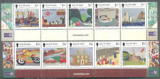 Isle of Man -Millenium Tapestry set --Art 2015-mnh