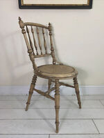Luterma Antique Dining chair turned legs H stretcher Fischel/Thonet Style