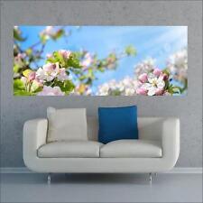 """Glasbild, Bild aus Glas, 125 x 50 cm Motiv """"0229_Blumen"""""""