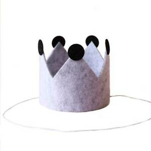 Felt Crown Birthday Top Hat Children Party Hat Holiday Celebration Decoration Ho