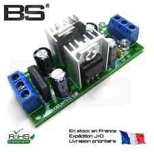 L7805 + LM7905 module alimentation symetrique regulateurs double pont redresseur