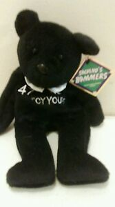 Cy Young NL 49 Glavine Salvino Bammer's with tag plush beanie BEAR
