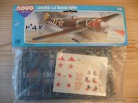 NOVO LAVOCHKIN La7 RUSSIAN FIGHTER – 1:72 USED BUT STILL IN FACTORY PACK