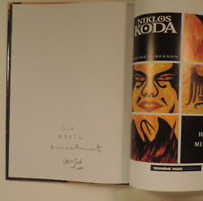 GRENSON dedicace manuscrite dans Niklos Koda 5 Lombard EO TBE