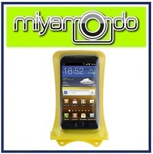 DiCAPac WP-C1 (Yellow) Waterproof Case for Samsung/LG/HTC/Blackberry/Nokia