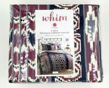 Martha Stewart Whim 3 Piece Full / Queen Comforter Cover Set
