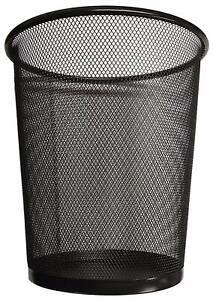Circular Mesh Wastebasket Trash Can, Waste Basket Garbage Can Bin for Bathrooms,