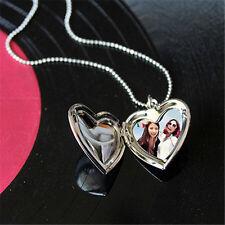 Foto Anhänger zum öffnen Medaillon Amulett Talisman Silber Glücksbringer Kette