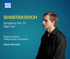 Shostakovich / Petrenko / Vinogradov / Mens - Sym 13 Babi Yar [New CD]