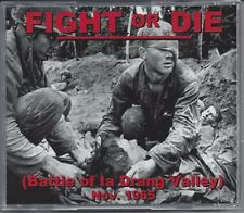 """VIETNAM WAR DVD """"FIGHT OR DIE"""" THE BATTLE OF THE IA DRANG VALLEY (45min)"""