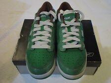 Reebok RBK Get Low Green Silver Brown Bookworm 4-274734 Size 10.5 Sneakers