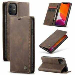 Hülle iPhone 12 / Pro / Max Mini - Magnet Handy Tasche Schutzhülle Case Etui