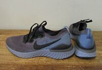 NIKE AQ3243-012 7Y Youth GS 7 Boys Girls Epic React Flyknit 2 Ocean Fog Blue Gra