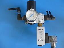 Festo Assembly LR-1/4-D-7-I-MINI 192301 FRZ-D-MINI 162786 PEV-1/4-SC-OD 161760 +