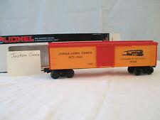 NOS Lionel Joshua L Cowen Reefer 6-19528 1992 O-Gauge 3-Rail Track Orange/Red