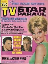 Tv Star Parade magazine- April 1966,Batman,Elvis,David McCallum,Hogan's Heroes
