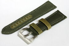 24mm Best quality and best price genuine Leather/Nylon watch strap - 143655