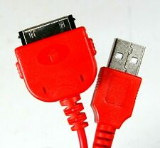 Apple iPhone USB Charger Cable Red for 1st 2nd Gen 1G 2G 3G 3GS 4 4G 4S