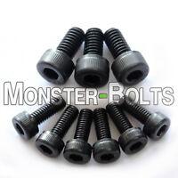FLOYD ROSE Saddle Intonation Mounting & Locking Nut / String Clamp Screws -Black