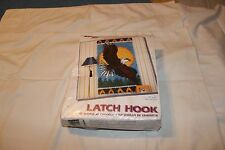 Eagle-Rug or Wall Hanging Latch Hook Kit Mostly Sealed