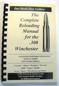 308 Winchester .308 WIn Reloading Manual LOADBOOKS USA Loadbook 2016 Version NEW