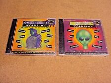 Lot 2 Word Play Refrigerator Magnet Ghost/Alien Learn Vocabulary Teacher Reward
