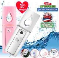 MIST SPRAYER 30ML Cool USB Machine Nano Face HYDRATION MOISTURIZING Facial Spray