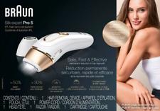 Braun Silk-expert Pro 5 IPL Hair Removal System - PL5117 - BRAND NEW SEALED