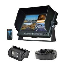 "New DVR Video Cam Weatherproof Backup Camera & 7"" Monitor for Bus,Truck,Trailer"