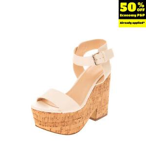 PRIMADONNA COLLECTION Ankle Strap Clog Sandals EU 38 UK 5 US 8 Cork Outsole