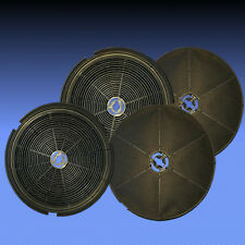 MEGA SPARSET 4 Aktivkohlefilter Kohlefilter Electrolux-Gruppe Tecnowind 150