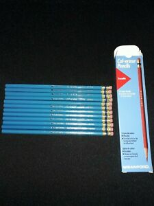 Sanford Vintage 1997 Prismacolor Col-Erase Pencils 20068 Light Blue Color NEW 12