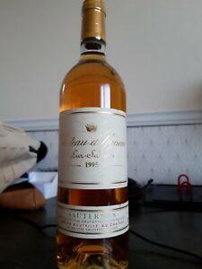 Château d'Yquem - Bordeaux - Sauternes - 1er Cru Classé Supérieur - 1995 -75cl