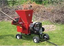 Tow Behind Chipper & Shredder - 11 Gross Torque - Commercial Duty