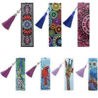 DIY Bookmarks 5D Diamond Painting Book Marks Embroidery Kits Craft  Art Gifts