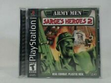 ARMY MEN SARGE'S HEROES 2 Playstation PS1 Complete CIB VERY Fast Ship World!!!