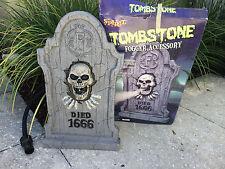 Spirit Halloween ~ Skull Tombstone Fogger Fog Machine Accessory Attachment