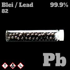 Lead metal 5 gram 99,9% - Element Sample - Plumbum Blei Metall - 5 g 82 Pb