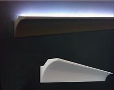 10 CORNICI IN POLISTIROLO TAGLIATE 70 x 70 x 1000 MM NEGOZI  CORNICE PER LED