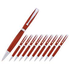 Fancy Pen Kit, Satin Chrome Finish, 10 Pack, Legacy Woodturning
