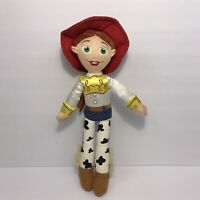 "Authentic Disney Store Official Toy Story JESSIE 14"" Stuffed Plush Cowgirl Doll"