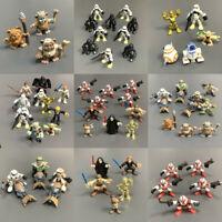 Lot Star Wars Galactic Heroes Jedi Force Action Figure Playskool Toy Kids Gift